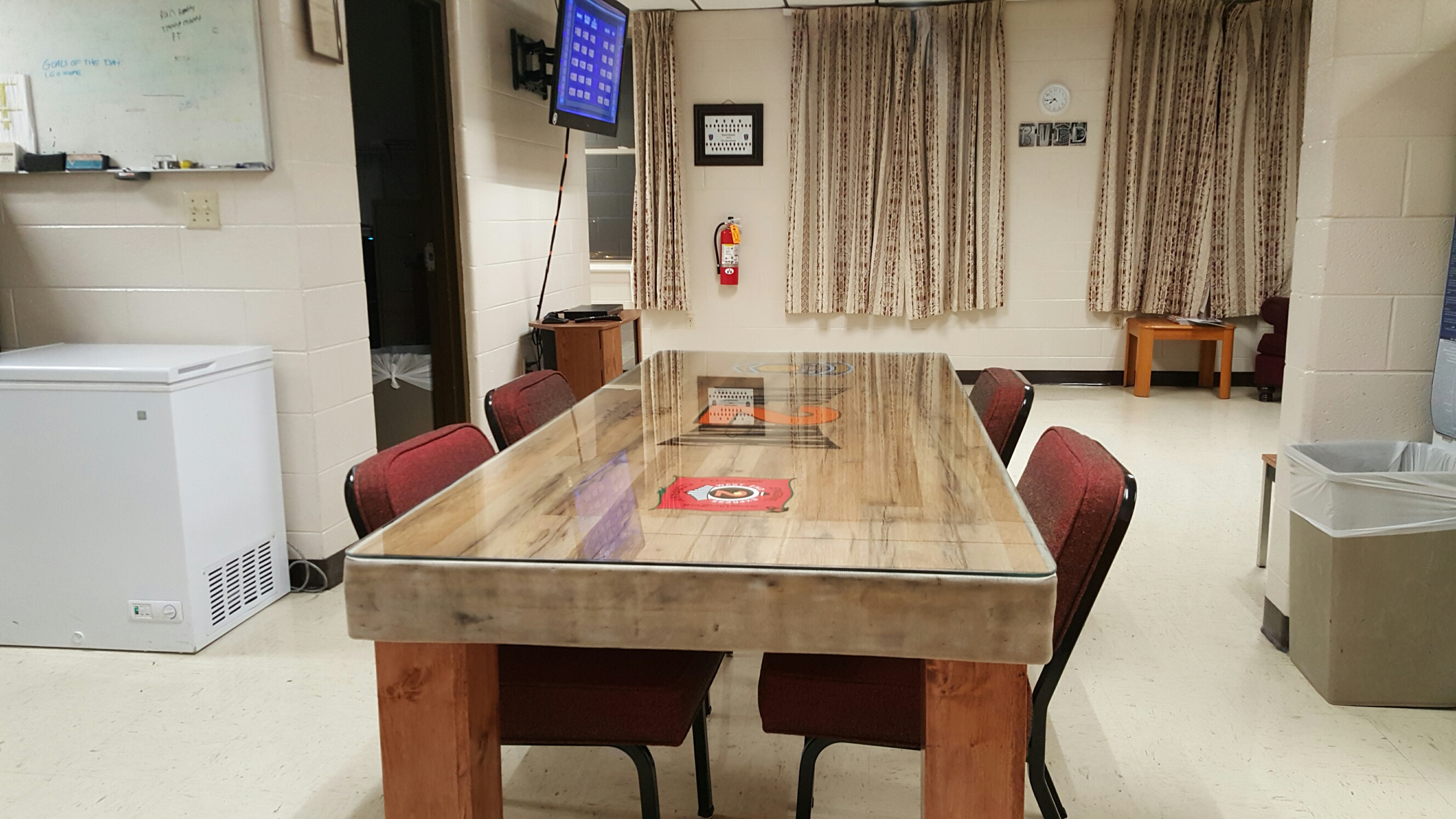 Bristol VA Firefighters Pay Tribute To Fallen Brother With Table Dedication
